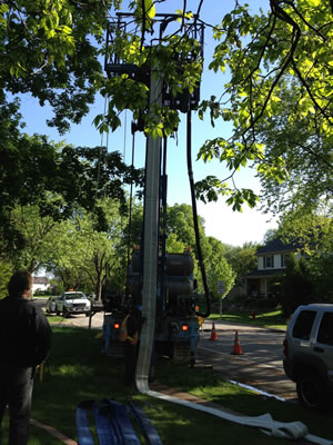 Wellston Ohio Trenchless Sewer and Water Line Repairs